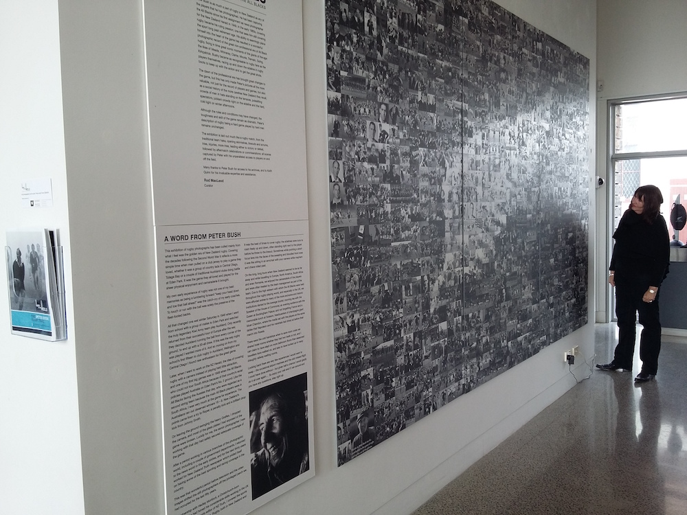 Aratoi Municipal Art Gallery Commemorates Work of National Press Club Vice President Peter Bush in Photo Exhibition that Spills Out into Town Streets