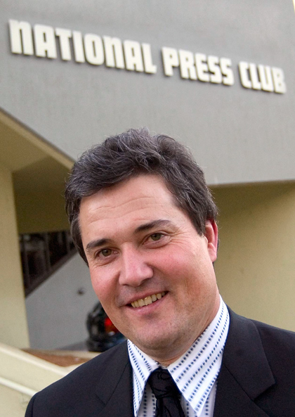 Maurice Reilly (pictured) chief executive of the National Press Club of Australia