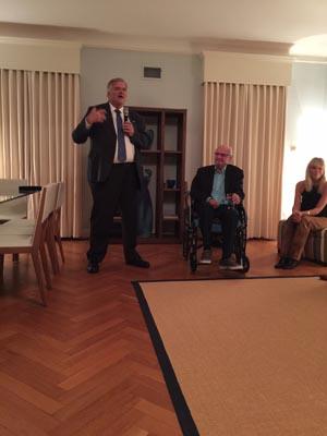 Kim Beazley Keynotes at Washington Un-Mooring