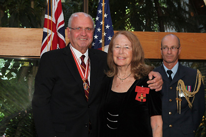 In 2012 Connie was presented with the New Zealand order of Merit by ambassador Mike Moore at the New Zealand Embassy, Washington.
